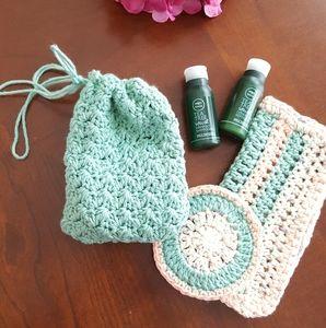 Crochet soap saver - 5🌟 Reviews!! Bath/Washcloth